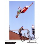 Bucky Lasek autographed 8x10 skateboarding photo