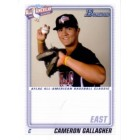Cameron Gallagher 2010 AFLAC Bowman Rookie Card