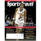 Candace Parker autographed Tennessee Lady Vols 2007 NCAA Final Four magazine cover