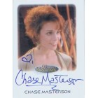 Chase Masterson Star Trek certified autograph card