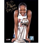 Cheryl Ford autographed WNBA Detroit Shock 8x10 photo inscribed ROY 2003