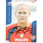 Christie Rampone autographed 2004 U.S. Soccer card like element