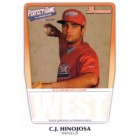 C.J. Hinojosa 2011 Perfect Game Topps Bowman Rookie Card (AFLAC)