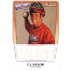 C.J. (Cameron) Saylor 2011 Perfect Game Topps Bowman RC (AFLAC)