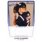Clate Schmidt 2011 Perfect Game Topps Bowman Rookie Card (AFLAC)