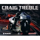 Craig Treble autographed 8x10 NHRA photo card