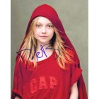 Dakota Fanning autographed 8x10 photo