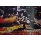 Davi Millsaps autographed Oakley motocross or supercross mini poster