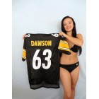 Dermontti Dawson Pittsburgh Steelers authentic Reebok stitched size LARGE jersey NEW