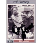 Dick Stockton autographed 1991 Netpro Legends tennis card