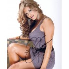 Eve Torres autographed sexy 8x10 photo