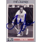 Fred Stolle autographed 1991 Netpro Legends tennis card