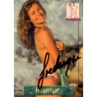 Frederique van der Wal (Victoria's Secret model) autographed 1994 Portfolio swimsuit card