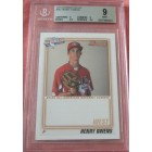 Henry Owens 2010 AFLAC Bowman Rookie Card graded BGS 9 (MINT)