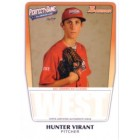 Hunter Virant 2011 Perfect Game Topps Bowman Rookie Card (AFLAC)