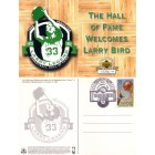 Larry Bird Boston Celtics 1998 Hall of Fame commemorative UDA postcard ltd edit 1998