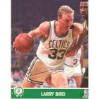 Larry Bird Boston Celtics 1990 NBA Hoops 8x10 photo
