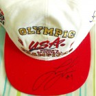 Lisa Leslie autographed 1996 USA Olympic Champions cap or hat