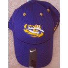 LSU Tigers purple Nike Dri-Fit cap or hat NEW WITH TAGS