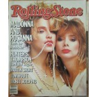 Madonna & Rosanna Arquette 1985 Rolling Stone magazine (no subscription label)
