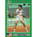 Michael Chang 1991 Netpro Rookie Card