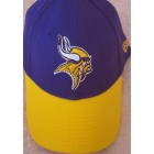 Minnesota Vikings New Era purple and yellow cap or hat