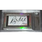 Ray Floyd certified autograph 2012 Leaf Executive Masterpiece Cut Signature card #1/1