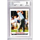 Rory McIlroy 2011 Sports Illustrated for Kids golf Rookie Card graded BGS 9 (MINT)
