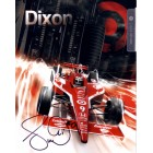 Scott Dixon autographed 2011 IRL 7x9 photo card