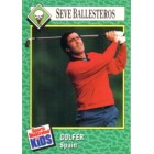 Seve Ballesteros 1990 Sports Illustrated for Kids Rookie Card
