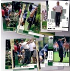 Tiger Woods lot of 21 assorted 2001 & 2002 Upper Deck cards