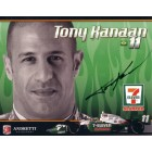 Tony Kanaan autographed Andretti photo card