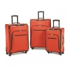 American Tourister At Pop Plus 3Pc. Spinner Set Orange