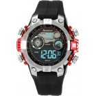 Armitron Men's Digital Sport w/ Red Metalized Accents Watch