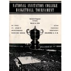 1944 NIT college basketball program (De Paul Kentucky St. John's Utah)