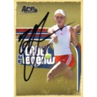Anna Chakvetadze autographed 2006 Ace Authentic tennis card