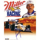 Bobby Rahal autographed Miller Lite 8x10 photo card