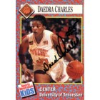 Daedra Charles autographed Tennessee 1991 Sports Illustrated for Kids card