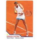 Dinara Safina 2010 Sports Illustrated for Kids card