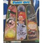Alex Borstein Mike Henry Patrick Warburton autographed Family Guy 2013 Comic-Con poster (To Amy)