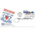Johnny Rutherford autographed Auto Racing First Day Cover