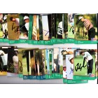 75 autographed 1991 Pro Set PGA Tour golf cards Gay Brewer Fred Couples Ben Crenshaw Gary Player Nick Price Lee Trevino