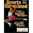 Michelle Kwan autographed 1998 Winter Olympics Preview Sports Illustrated magazine