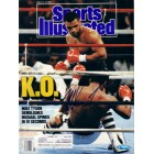 Mike Tyson autographed 1988 Sports Illustrated (TriStar)