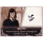 Ryan Nelson Harry Potter certified autograph Slightly Creepy Boy card